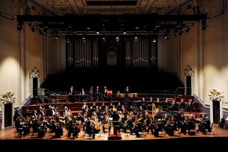 The Royal Scottish National Orchestra performing in the Usher Hall - Photo: Any Buchanan