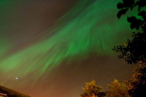 Monday night's Aurora Borealis - Photo: Austin Taylor
