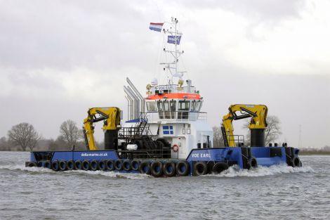 Delta Marine Boat VOE Earl - Photo: Damen Shipyard