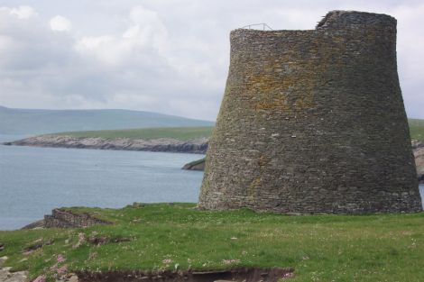 The world famous Mousa Broch.