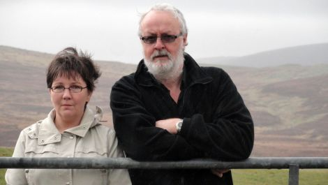 Evelyn and Donnie Morrison: 'sometimes you can't sleep at all' - Photo: Shetland News