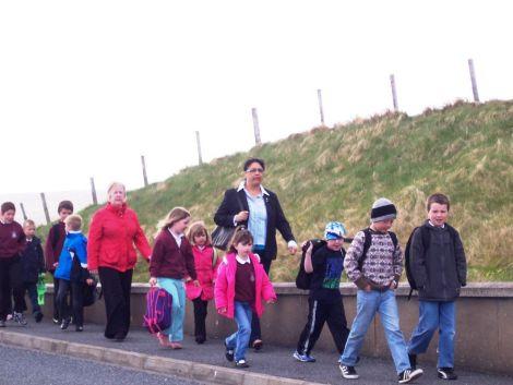 Walk to School - Hamnavoe