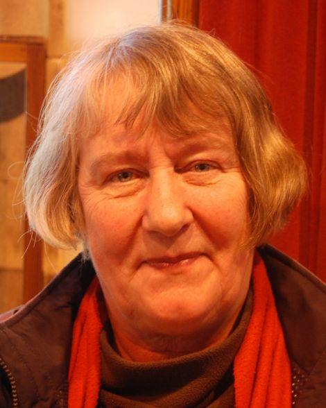 Former Shetland Times editor Vaila Wishart.