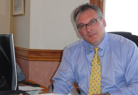 Council chief Alistair Buchan: 'people need to speak up' - Photo: Shetland News
