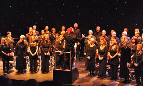 Shetland Choral Society's 'Music for Christmas' concert - Photo: Arwed Wenger