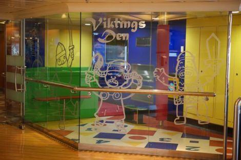Viklings Den for kids. Photo NorthLink Ferries