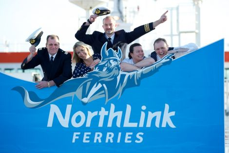 Magnus is the new mascot for NorthLink. Photo NorthLink Ferries