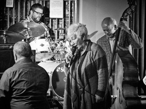Brian Kellock, Tom Bancroft, Fionna Duncan & Ronnie Rae - all photos: Chris Brown