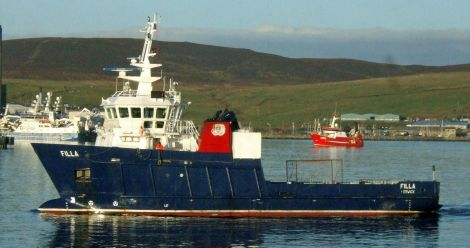 The Skerries ferry Filla, whose timetable is to be cut as part of the council's savings programme.