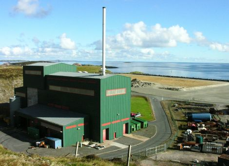The waste to energy plant in Lerwick. Photo Shetland News