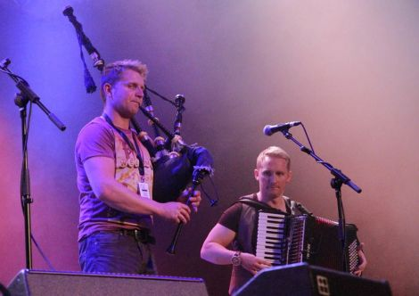And pipping the Skerryvore hunks from Tiree as the sexiest musicians of the weekend...