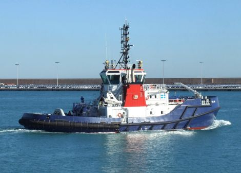The tug Solan should be back in action this summer, but for how long? Photo Maritime Journal