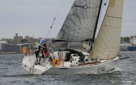 It took most yachts just over 30 hours to complete the first leg of the Shetland Race - Photo: Ian Leask