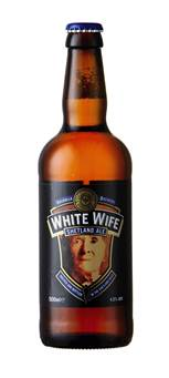 The White Wife ale is inspired by the ghostly apparition of an old woman who appears in vehicles usually driven by lonely males on a lonely stretch of road in Unst.