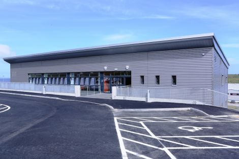 The newly opened independent living centre that is not quite open yet. Photo Austin Taylor