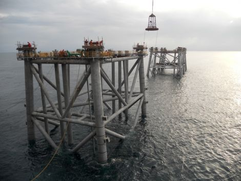 Both new jackets (drilling and production) as well as (quarters and utilities) safely installed on Clair Ridge project