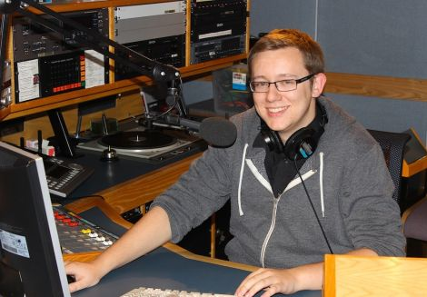 Daniel Lawson from Cullivoe joins BBC Radio Shetland straight from college.