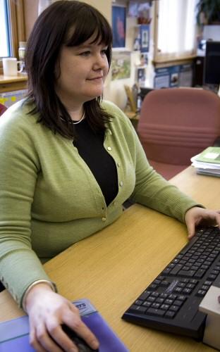 Interim infrastructure director Maggie Sandison