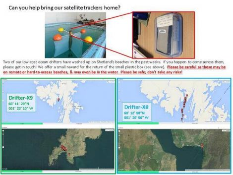 This image shows where the missing satellite trackers can be found.