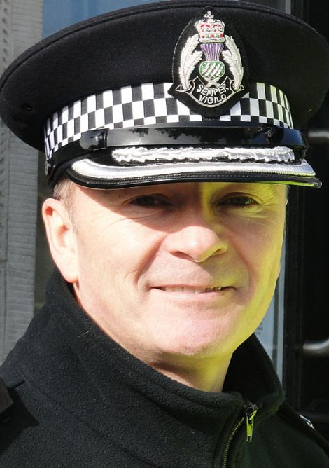 Chief Superintendent Julian Innes - Photo: ShetNews