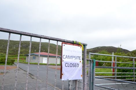 The campsite was run by Shetland Recreational Trust before it sold the land to the SIC in March. Photo: Neil Riddell/Shetnews