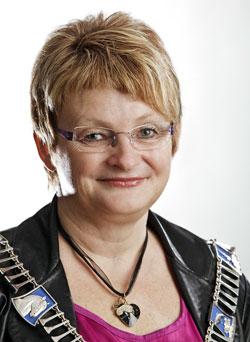Sogn og Fjordane mayor Åshild Kjelsnes