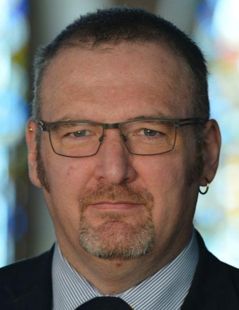 SIC political leader Gary Robinson.