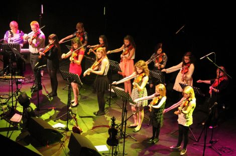 Eunice Henderson's group of young fiddlers will strut their stuff at the 60th Sidmouth Folk Week.