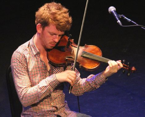 Ross Couper, one of several of the isles' top fiddlers taking part in this year's frenzy. Photo: Davie Gardner
