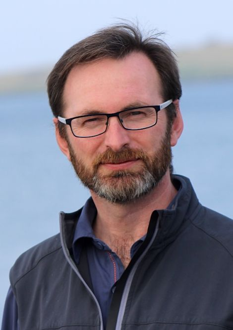 Scottish polar exploter Craig Mathieson in Lerwick this week - Photo: Hans J Marter/ShetNews