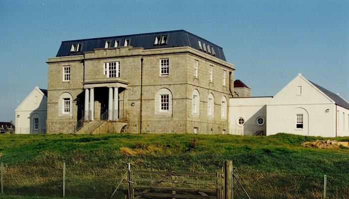The secondary school on Whalsay.