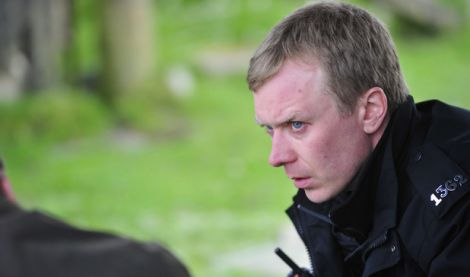 Robertson as PC Sandy Wilson in 'Shetland'. The new series is due to start shooting in early 2015.