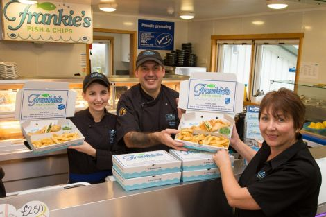 Frankie's Fish & Chips has scooped another award.