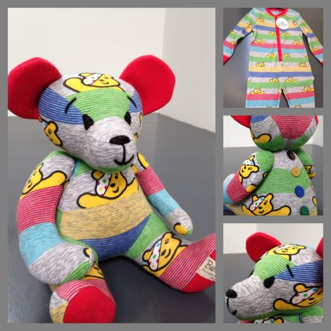 Children in Need Burra Bear named Wanzey