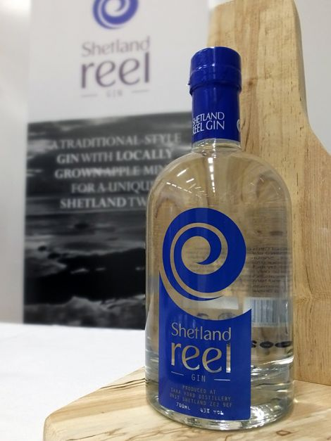 Shetland Reel Gin - a new spirit from up north.