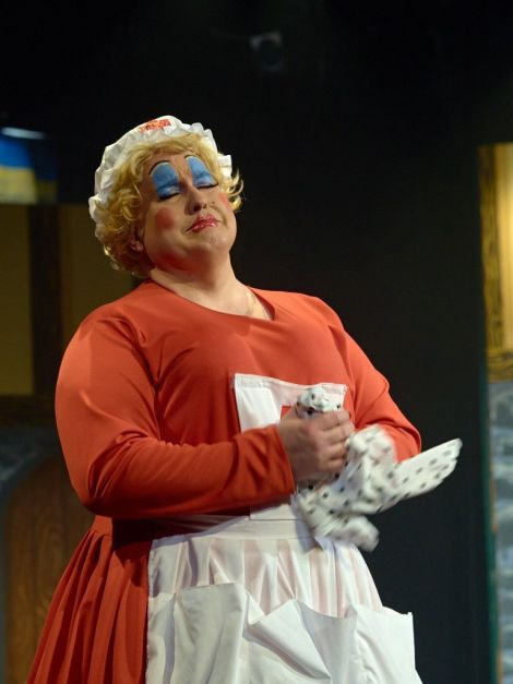Nurse Jemima Jollop (played by Karl Ward): 'With friends like these, who needs enemas?'