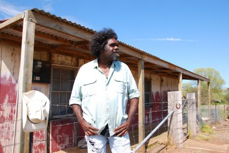 Indigenous singer Frank Yamma is visiting all the way from Australia.
