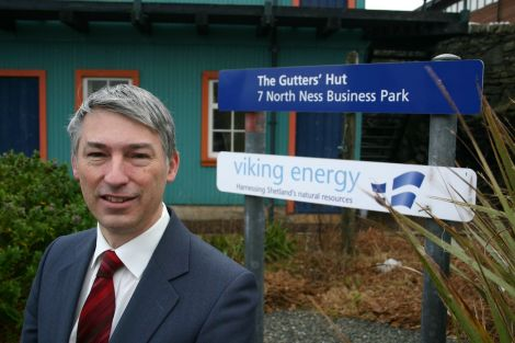 Viking Energy chairman Alan Bryce.