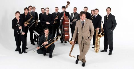 The Scottish National Jazz-Orchestra.