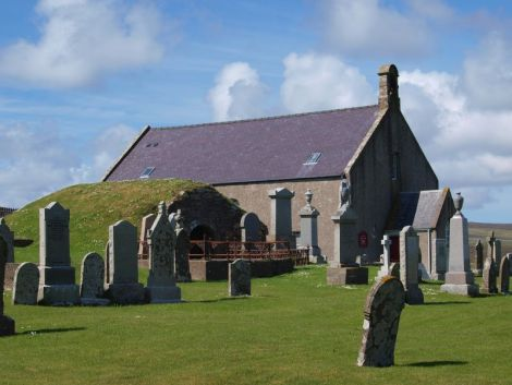 Tingwall kirk, one of many to receive funding from the Shetland Churches Council Trust.