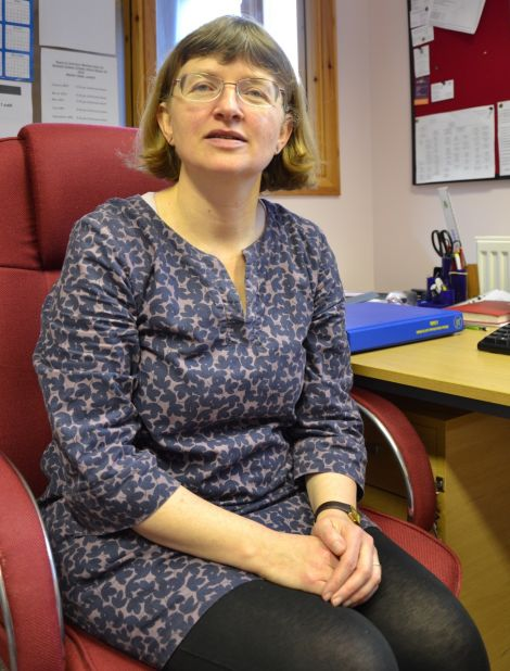 "Lerwick Citizens Advice Bureau manager Karen Eunson: ""Every time it always seems to be children, disabled people, the poorest folk"". Photo: Shetnews/Neil Riddell"