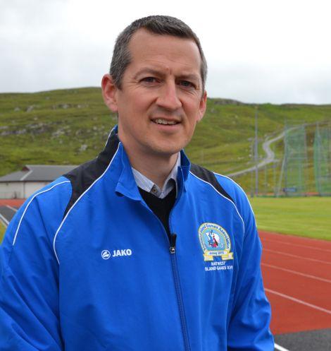 Team Shetland secretary Bob Kerr. Photo: Shetnews