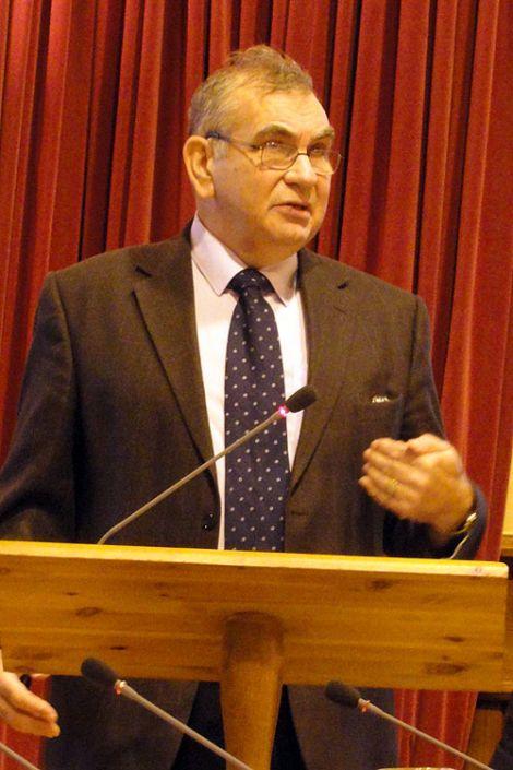 NFU Shetland chairman Jim Nicolson.