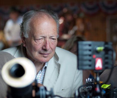 Wicker Man director Robin Hardy.