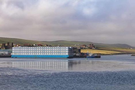 The Bibby Challenge is extending its stay in Scalloway until November.