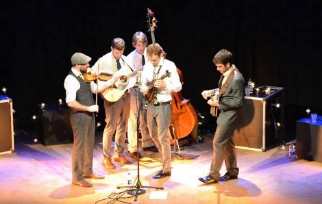 Punch Brothers at Mareel on Monday night - Photo: Neil Riddell/ShetNews