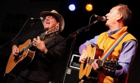 Jim Salestrom and Livingstone Taylor - All photos: Davie Gardner