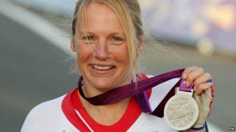Paralympic medal winner Karne Darke
