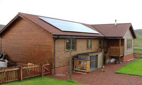The 4kw roof mounted solar PV.