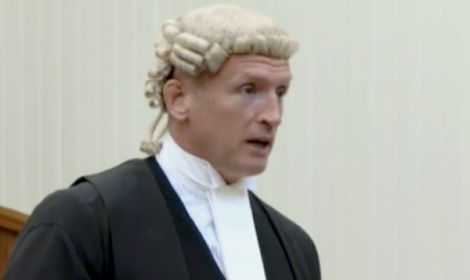 """QC Roddy Dunlop told the Election Court the petition was """"irrelevant"""" and """"bound to fail""""."""